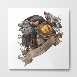 Chieftain Metal Print