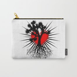 Joshua Tree Heart of the Hi Desert by CEYES Carry-All Pouch
