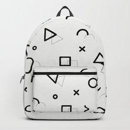 Memphis pattern Backpack