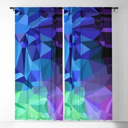 Crazy Crystals Blackout Curtain