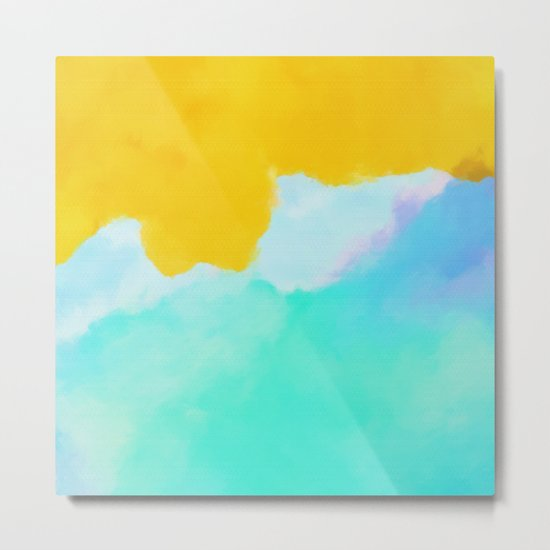 Summer color mood Metal Print