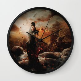 Character Poster Series - The Queen Wall Clock