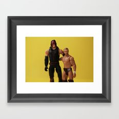 Team Hell No Framed Art Print