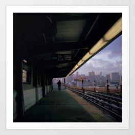 New York Street Photography Art Print