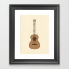 Classical Notation Framed Art Print