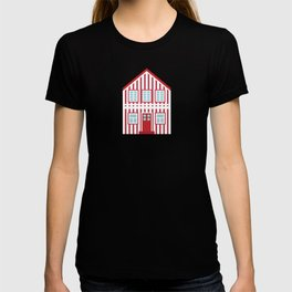 Red Costa Nova House T-shirt