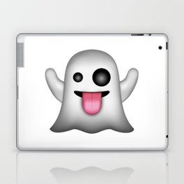 Ghost Emoji Laptop & iPad Skin