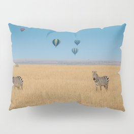 Zebras and baloons Pillow Sham