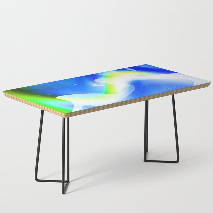 """'70's Lava Lamp"" Photograph Coffee Table"