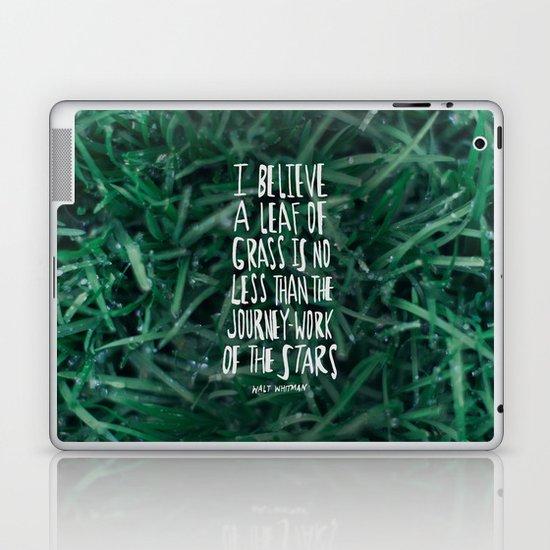 Leaf of Grass Laptop & iPad Skin