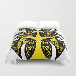 Tribal Owl Tree Duvet Cover