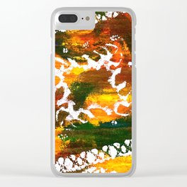 Aztec Culture Clear iPhone Case