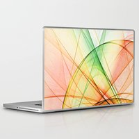 tequila Laptop & iPad Skins featuring tequila sunrise by Maureen Popdan