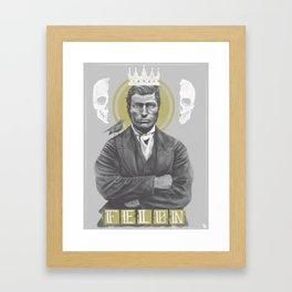 Selfsame Felon Framed Art Print