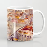 takmaj Mugs featuring Athens by takmaj