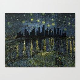 Chicago Skyline 13 Canvas Print