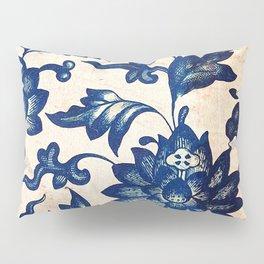 Blue Oriental Vintage Tile 06 Pillow Sham