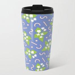 Floral pattern #2 Metal Travel Mug