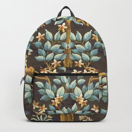 "William Morris ""Tree of life"" 1. Backpack"