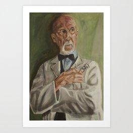 Dr Arthur Arden Art Print
