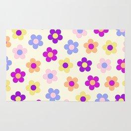 Flower Power Design Rug