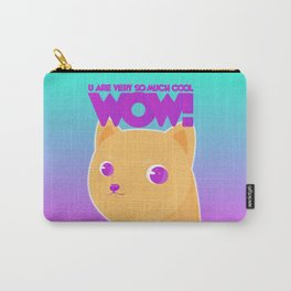 Wow dog Carry-All Pouch