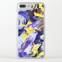 Θ Clear iPhone Case