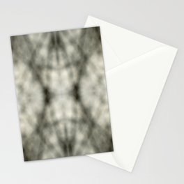 Abstract Branch Mood- Black & White Tie Dye - Natural Neutral Pattern Stationery Cards