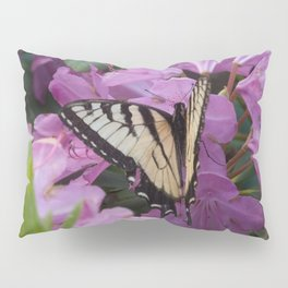 Monarch on Rhododendron Pillow Sham