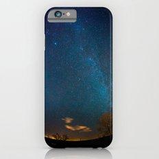 Winter Night Sky Milky Way iPhone 6s Slim Case