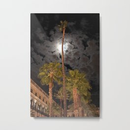 Barcelona palm tree Metal Print