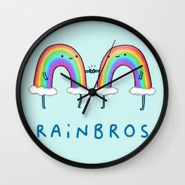 Rainbros Wall Clock