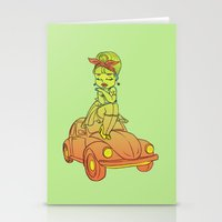 pin up Stationery Cards featuring Pin-up  by SilviaBoh