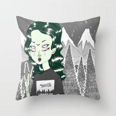 ☽ ZELINA ☾ Throw Pillow