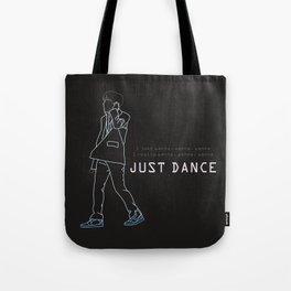 BTS JHOPE JUST DANCE LINE ART Tote Bag