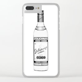 Russian style 2 Clear iPhone Case