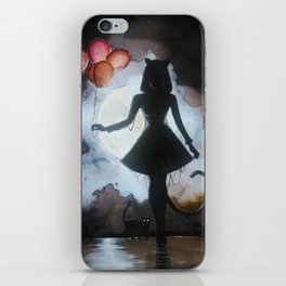 Mother of cats iPhone Skin