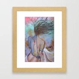 TRANSFIXED ~ On the Edge Framed Art Print
