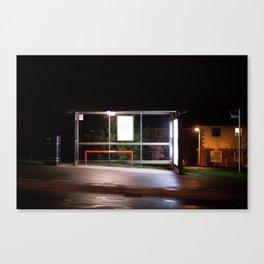 Midnight Stop Canvas Print