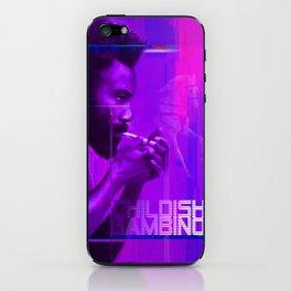 GAMBINO iPhone Skin