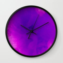 Textures (Purple version) Wall Clock