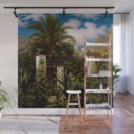 "Frederic Leighton ""Garden of an Inn, Capri"" Wall Mural"