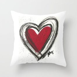 Your Heart is your Best Secret Throw Pillow
