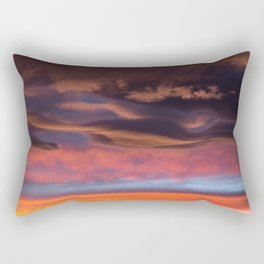 Beautiful Sunset / 1 Rectangular Pillow