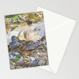 Mountain Stream by John Singer Sargent,1912 Stationery Cards