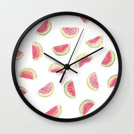 Watermelon slices Wall Clock