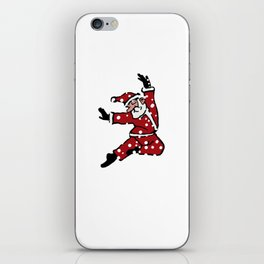 Dancing Santa - 8 iPhone Skin