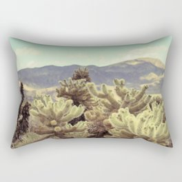 Super Bloom Cactus 7380 Rectangular Pillow