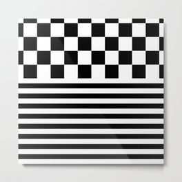 MONOCHROME (BLACK-WHITE) Metal Print