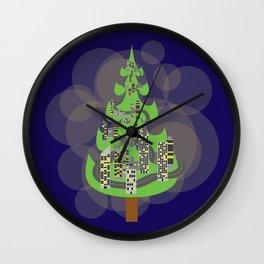 Tree City Wall Clock